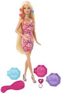 barbie color chalk hair