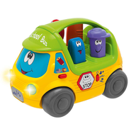 chicco talking school bus