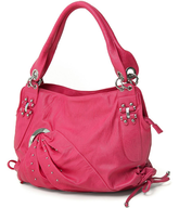 liquidation fuchsia hobo handbag