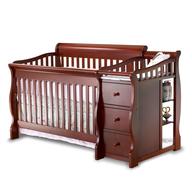 amber baby crib