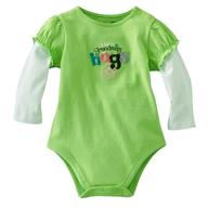 baby neon green shirt