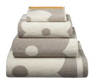 bath towel dots
