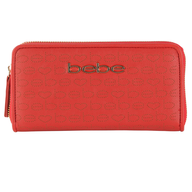 bebe red wallet shelf pulls
