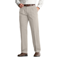 beige mens long pants