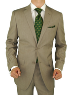 beige mens suits