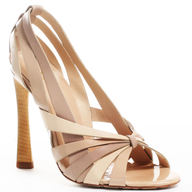 beige wedding heel