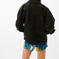 wholesale liquidation bershka oversized denim jacket