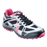 black pink grays sneakers