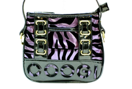 black purple zebra print