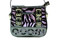 black purple zebra print