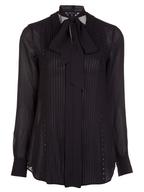 black womens blouse