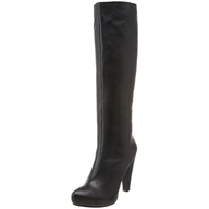 black womens tall boots