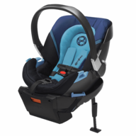 closeout blue baby car seat