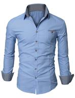 blue dress shirts