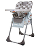 liquidation blue grey highchair
