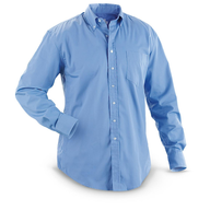 blue mens dress shirts