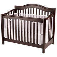 brown crib baby