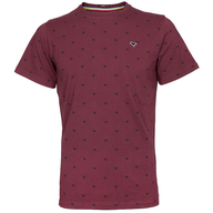 burgundy mens t shirt