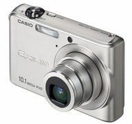casio silver camera