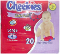 wholesale liquidation cheekies diapers