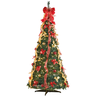 wholesale discount christmas trees decorated
