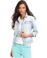 ck light wash denim jacket