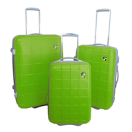 cubis green luggage