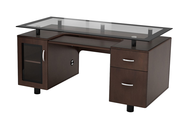 dark brown executive desk deals
