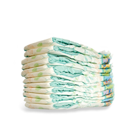 wholesale liquidation diapers pile