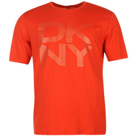 wholesale dkny_big_chest_logo_t_shirt
