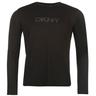 wholesale liquidation dkny_ls_logo_t_shirt