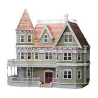 salvage doll house toy