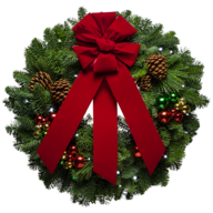 fresh forest wreath closeouts