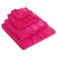 fuchsia towel