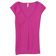 wholesale discount fushcia vneck