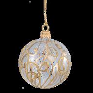 wholesale liquidation gold silver christmas ball