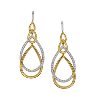 liquidation gold silver earrings