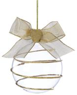 gold swirl ornament
