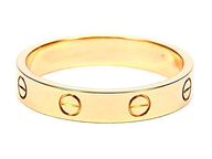 wholesale gold tone ring