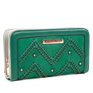 green nicole lee wallet