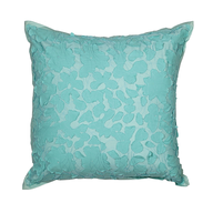 closeout green throw pillow