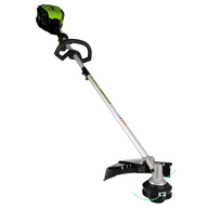 clearance green works cordless grass trimmer
