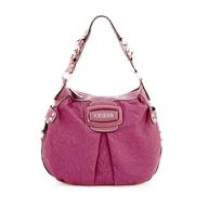 guess pink handbag