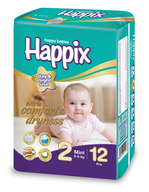 happix mini diapers