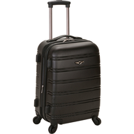 hardside luggage black