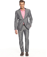 inc suit grey pink