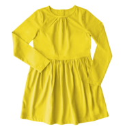 kids yellow dress in bulk