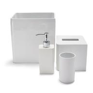 lacca white bath accessories