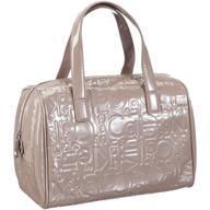 light pink calvin shiny purse