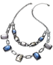 wholesale liquidation link stone necklace